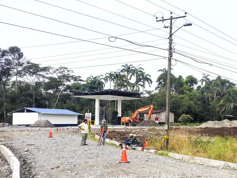 Remodelacion de la Estación de Servicio Petrocomercial Lumbaqui