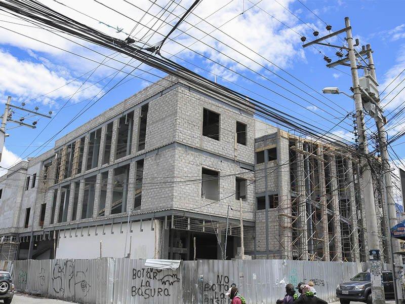 Construcción del Mercado Central de Machachi